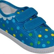 Детские кеды 1_33-9-BLUE-151 фото