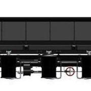 Вагоны-самосвалы типа «думпкар», модель 33-980, тип 2ВС-105 (ТУ У 30.2-33576086-001:2014) фото