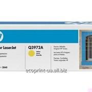 Услуга заправки картриджа HP Q3962A HP 2550 Yellow для лазерных принтеров фото