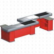 Кассовый бокс с транспортером Энергия EL TANDEM TAKO K 40/60/60 BT красный левый RAL 3000 фото
