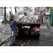Вывоз снега, грузчики фото