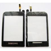 Тачскрин (TouchScreen) для Samsung C3300/C3303 black фото