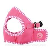 Шлейка-жилет для собак Naunet, розовая PUPPIA фото