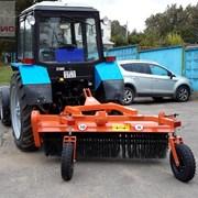 Щетка дорожная коммунальная МТС101 для тракторов М фото