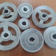 Шкив для промышленного эл. двигателя D 40 - 100 фото