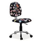 Кресло компьютерное Signal ZAP 1 (черный деним) фото