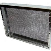 Изолятор сетчатый из оцинкованной стали 1 рамка фото