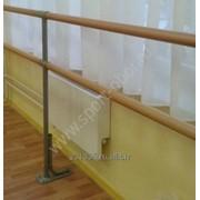 Установка станков балетных 2-х рядных, поручней фото