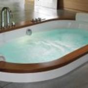 Ванна гидромассажная OPALIA WOOD - венге фото
