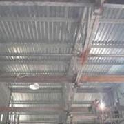 Изготовление и монтаж металлоконструкций быстровозводимого цеха со встроенным ГПМ фото