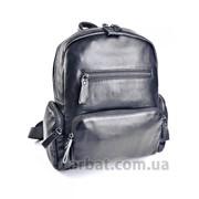 Женская сумка 6054 Black кожа фото