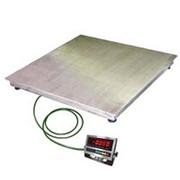 Платформенные весы ЕВ4-300 (1x1) нерж., индикатор WI-2RS фото