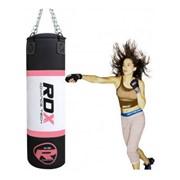 Боксерская груша RDX pink 1.2м, 30-35кг фото