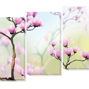 Модульная картина Весна, Неизвестен фото