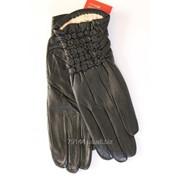 Женски перчатки из натуральной кожи фото