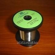 Проволока никелевая (диаметр – 0,2 мм) Pure Nickel Wire - Ni270 (99.97%) - 0.20 mm (32AWG) фото