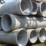 Трубы бетонные и железобетонные безнапорные вибропрессованные фото