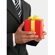 Деловые подарки с изображением логотипа. фото