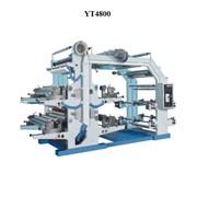 Флексопечатная машина Flexible printer YT4800 фото