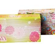 """Бумажные сухие салфетки, 100 % целлюлоза, салфетки двухслойные ТМ """"ZAYA"""" фото"""