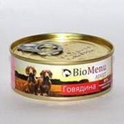 BioMenu 100г конс. Adult влажный корм для взрослых собак Говядина фото