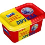 Продукт плавленый пастообразный в пластиковом контейнере Классический Дружба 400гр фото