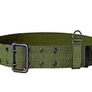 Ремень армейский ВКБО, солдатский зеленый: Размер: 1(110см) фото
