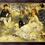 Картина В саду, Ренуар, Пьер Огюст фото