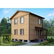 Дом из бруса Проект №29 (6х5) фото