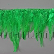 Перо-юбка зеленая 8-13см/48-50см 570433 фото