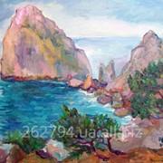 """Морской пейзаж """"Гора дива"""" фото"""