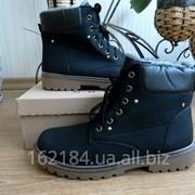 Мужские зимние ботинки на меху в стиле Timberland и CAT Зима Новые фото