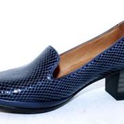 Классический туфель с ортопедической стелькой фото