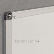 Доска маркерная магнитная в алюминиевой раме 120х250 см 2x3 (Польша) TSA1225UKF фото
