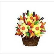 Составление букетов из фруктов фото