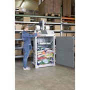 Вертикальный пресс HSM V-Press 504 ECO для пленки картона бумаги вторсырья фото