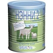 Нэнни молочная смесь №2 с пребиотиками 400 фото