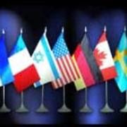 Флаги настольные фото