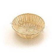 Хлебница плетен.ротанг беж.круглая d=18.5.h=7.5см LQ-NEW фото