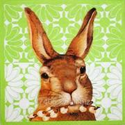 Салфетка для декупажа Кролик Джек фото