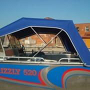Пошив тентов для катеров, моторных яхт, лодок фото