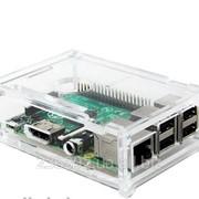 Корпус Raspberry Pi B+ прозорий фото