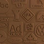 Выпечка кондитерских изделий с логотипом фото