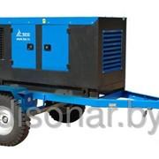 Трехфазный дизельный генератор АД16СТ4001РПМ13, 16кВт, в кожухе на шасси фото