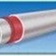 Полипропиленовая труба для горячего водоснабжения и отопления композитные PN-20 d=75 мм фото
