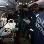 Авиатранспортировка тяжелобольного ребенка фото