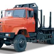 Автомобиль - сортиментовоз КрАЗ-6233М6 фото