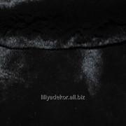 Мех Кролик черный фото