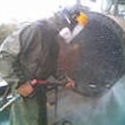 Очистка труб теплообменников гидродинамической установкой. фото