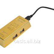 USB Hub Слиток золота на 4 порта фото